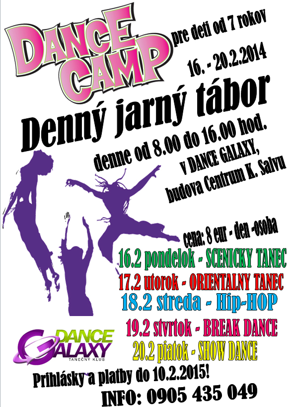DANCE CAMPS