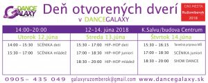 Galaxy dance banner DOD 2018